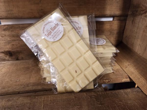 Chocolat blanc NATURE 100g