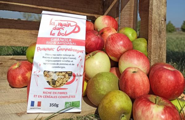 Céréales Bio pommes canneberges