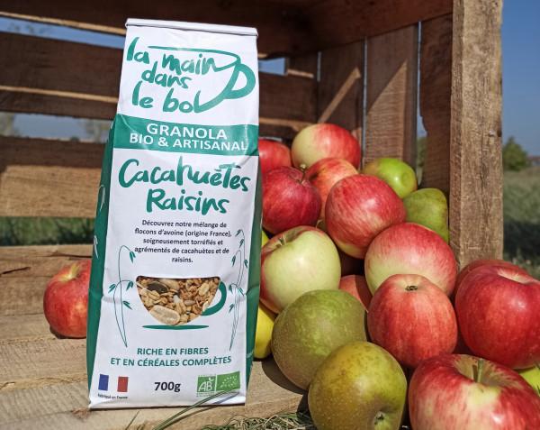 Céréales Bio cacahuètes raisins