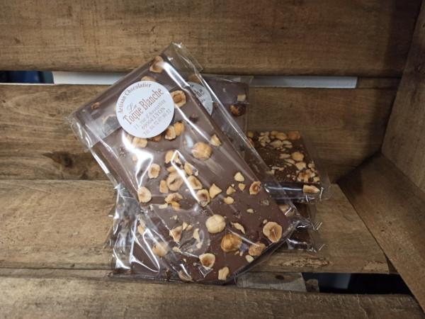 Chocolat lait NOISETTES 100g