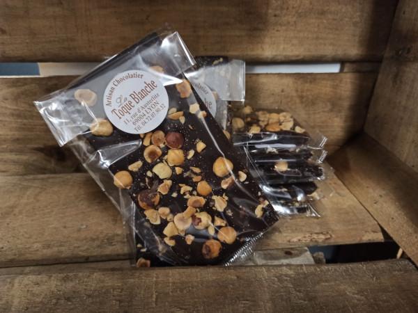 Chocolat noir NOISETTES 100g