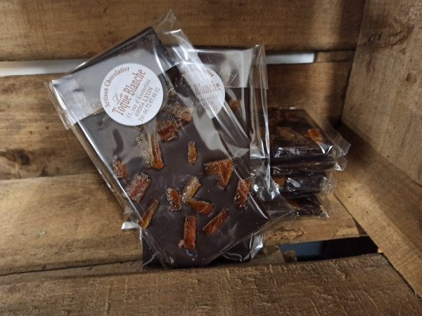 Chocolat noir ORANGE 100g
