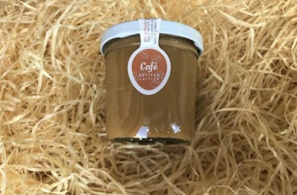 Dessert lacté café
