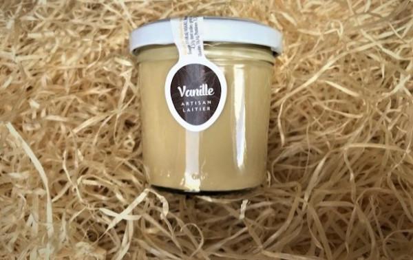 Dessert lacté vanille