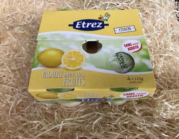 Yaourts Citron Etrez